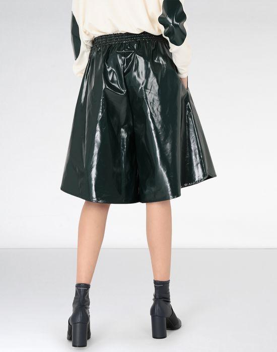 MM6 MAISON MARGIELA Coated cotton boxed short Shorts [*** pickupInStoreShipping_info ***] d