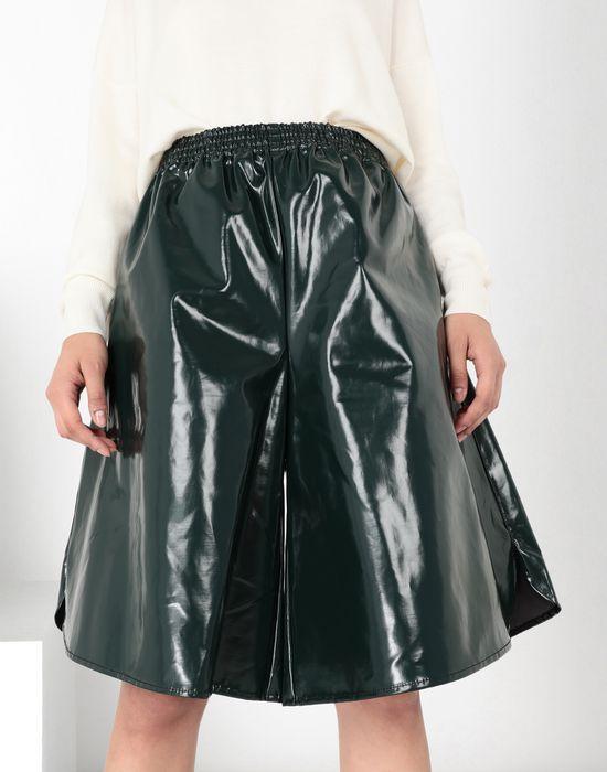 MM6 MAISON MARGIELA Coated cotton boxed short Shorts [*** pickupInStoreShipping_info ***] e