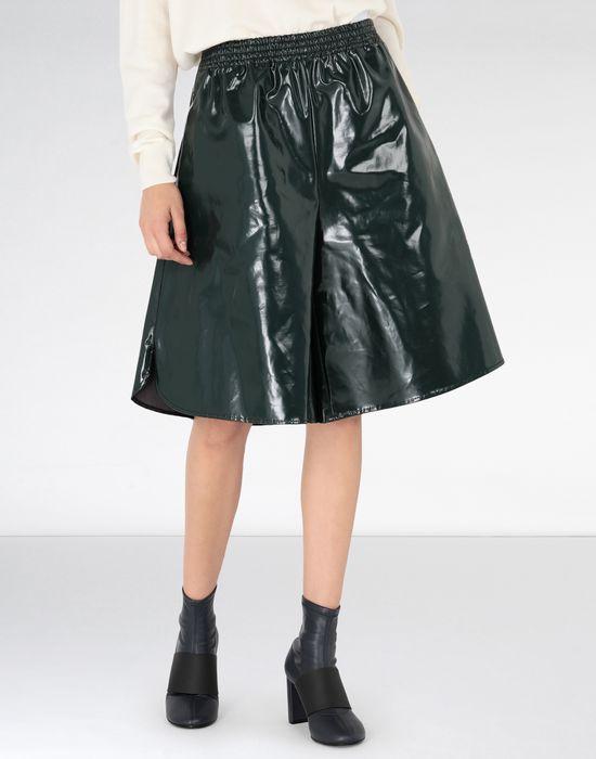 MM6 MAISON MARGIELA Coated cotton boxed short Shorts [*** pickupInStoreShipping_info ***] f