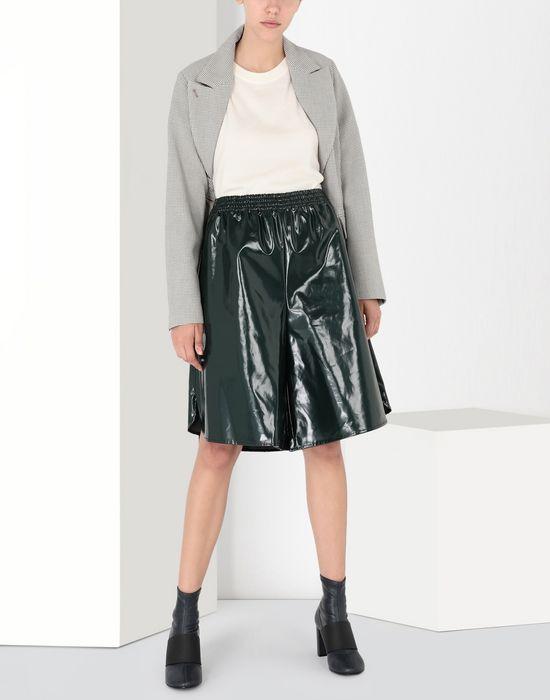 MM6 MAISON MARGIELA Coated cotton boxed short Shorts [*** pickupInStoreShipping_info ***] r