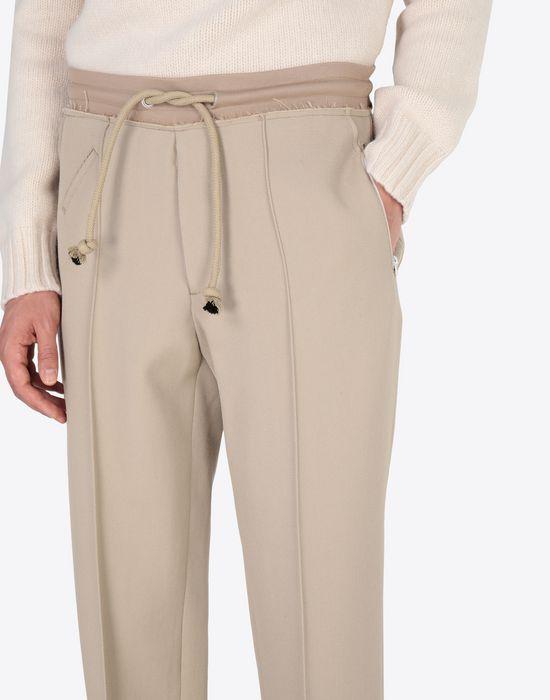 MAISON MARGIELA Wool drawstring trousers Casual pants [*** pickupInStoreShippingNotGuaranteed_info ***] a