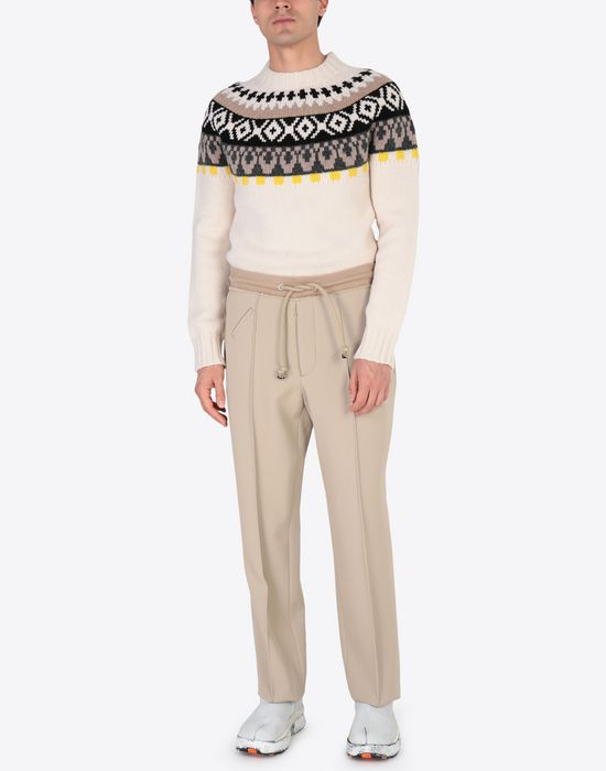 MAISON MARGIELA Wool drawstring trousers Casual pants [*** pickupInStoreShippingNotGuaranteed_info ***] d