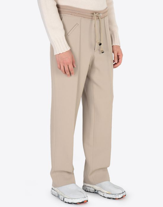 MAISON MARGIELA Wool drawstring trousers Casual pants [*** pickupInStoreShippingNotGuaranteed_info ***] r