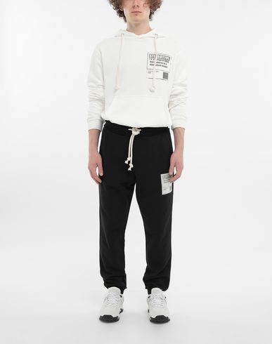 TROUSERS Cotton drawstring 'Stereotype' sweatpants Black