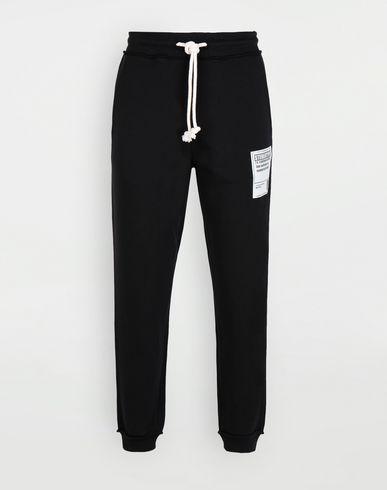 PANTS Cotton drawstring 'Stereotype' sweatpants Black