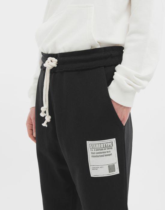 MAISON MARGIELA Cotton drawstring 'Stereotype' sweatpants Casual pants [*** pickupInStoreShippingNotGuaranteed_info ***] a
