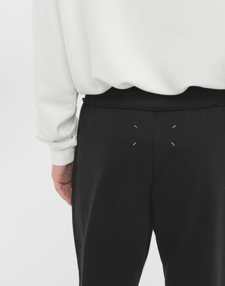 MAISON MARGIELA Cotton drawstring 'Stereotype' sweatpants Casual pants Man b