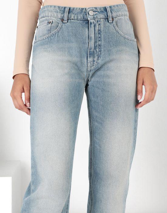"MM6 MAISON MARGIELA Light ""garage"" wash flared jeans Jeans [*** pickupInStoreShipping_info ***] e"