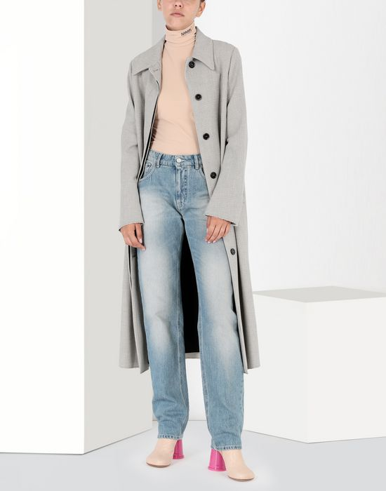 "MM6 MAISON MARGIELA Light ""garage"" wash flared jeans Jeans [*** pickupInStoreShipping_info ***] r"