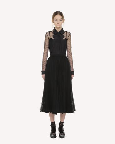REDValentino QR3RA3303TV 0NO Skirt Woman f