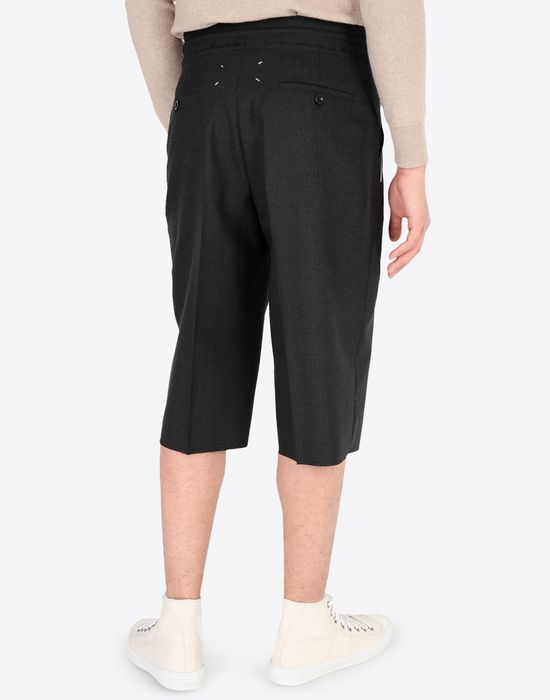 MAISON MARGIELA Pleated cotton shorts Shorts [*** pickupInStoreShippingNotGuaranteed_info ***] e