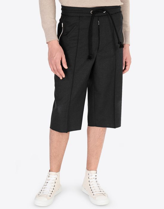 MAISON MARGIELA Pleated cotton shorts Shorts [*** pickupInStoreShippingNotGuaranteed_info ***] r