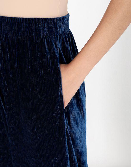 MM6 MAISON MARGIELA Flared suit trousers in velvet Casual pants [*** pickupInStoreShipping_info ***] e