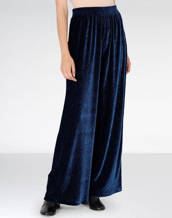 MM6 MAISON MARGIELA Flared suit trousers in velvet Casual pants [*** pickupInStoreShipping_info ***] f