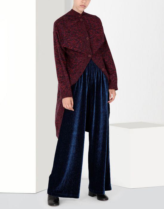 MM6 MAISON MARGIELA Flared suit trousers in velvet Casual pants [*** pickupInStoreShipping_info ***] r