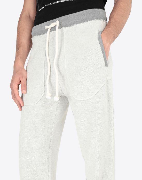 MAISON MARGIELA Contrasted cotton sweatpants Casual pants [*** pickupInStoreShippingNotGuaranteed_info ***] a