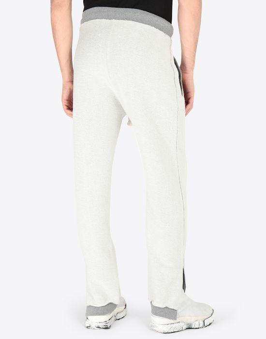 MAISON MARGIELA Contrasted cotton sweatpants Casual pants [*** pickupInStoreShippingNotGuaranteed_info ***] e