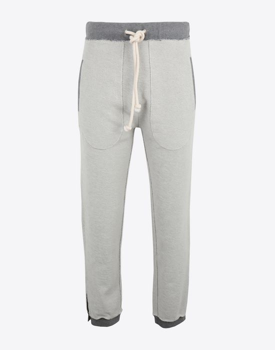 MAISON MARGIELA Contrasted cotton sweatpants Casual pants [*** pickupInStoreShippingNotGuaranteed_info ***] f