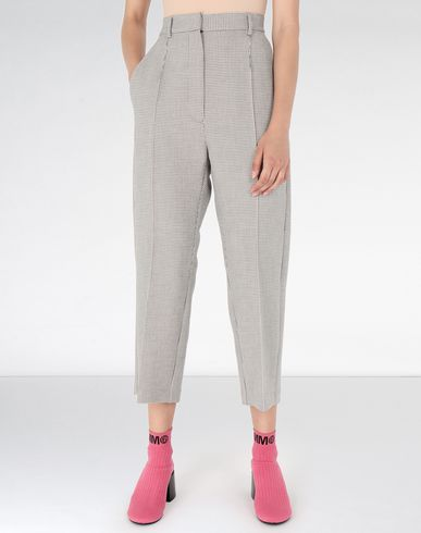 MM6 MAISON MARGIELA Formal trousers Woman Cropped suiting trousers f