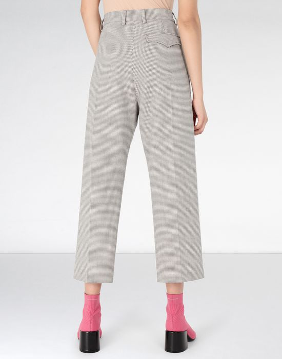 MM6 MAISON MARGIELA Cropped suiting trousers Dress pants [*** pickupInStoreShipping_info ***] d