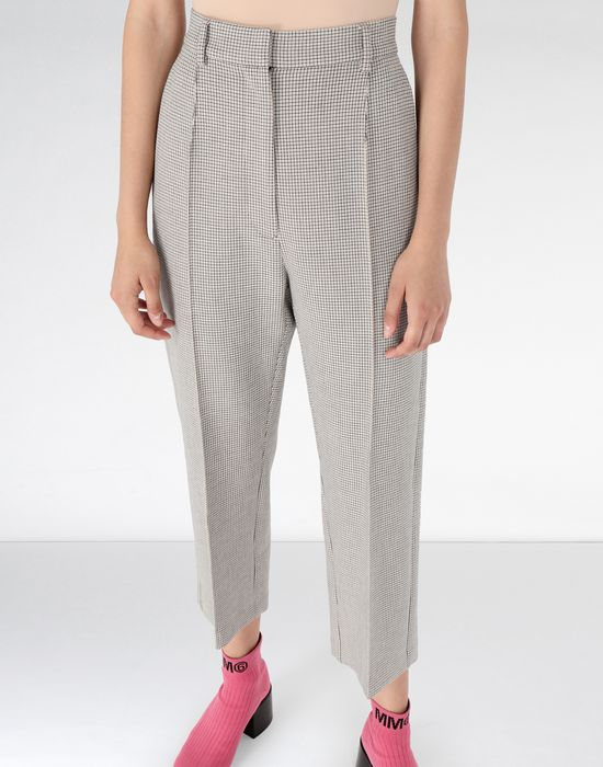 MM6 MAISON MARGIELA Cropped suiting trousers Dress pants [*** pickupInStoreShipping_info ***] e