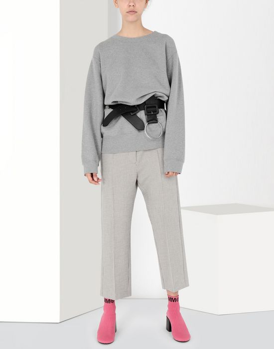 MM6 MAISON MARGIELA Cropped suiting trousers Dress pants [*** pickupInStoreShipping_info ***] r