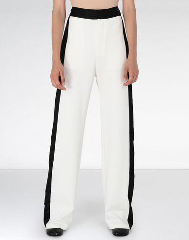 MM6 MAISON MARGIELA Trousers Woman Suiting pants with edge stripes f