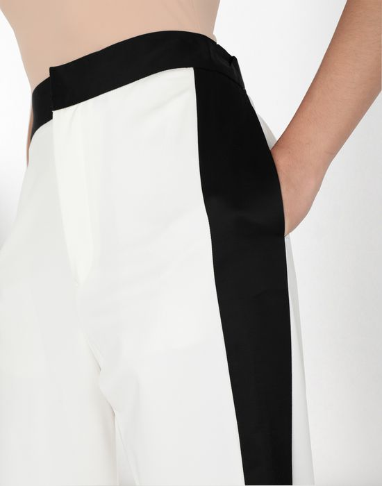 MM6 MAISON MARGIELA Suiting pants with edge stripes Casual pants [*** pickupInStoreShipping_info ***] e