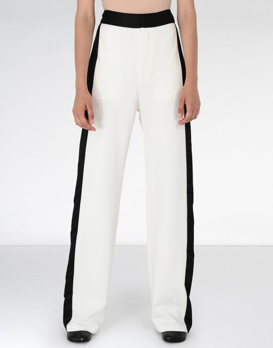 MM6 MAISON MARGIELA Suiting pants with edge stripes Casual pants [*** pickupInStoreShipping_info ***] f