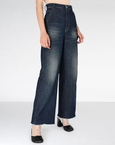 MM6 MAISON MARGIELA Jeans Woman Dark 'garage' wash denim jeans f