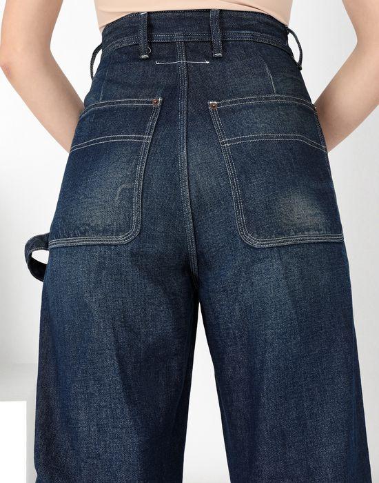 MM6 MAISON MARGIELA Dark 'garage' wash denim jeans Jeans [*** pickupInStoreShipping_info ***] a