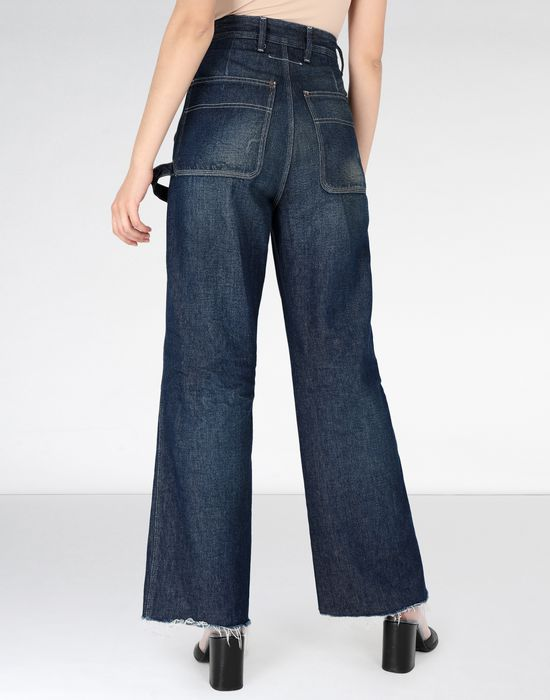 MM6 MAISON MARGIELA Dark 'garage' wash denim jeans Jeans [*** pickupInStoreShipping_info ***] d