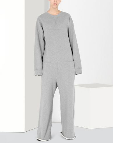 MM6 MAISON MARGIELA Salopette pantalon long Femme Oversized jersey jumpsuit f