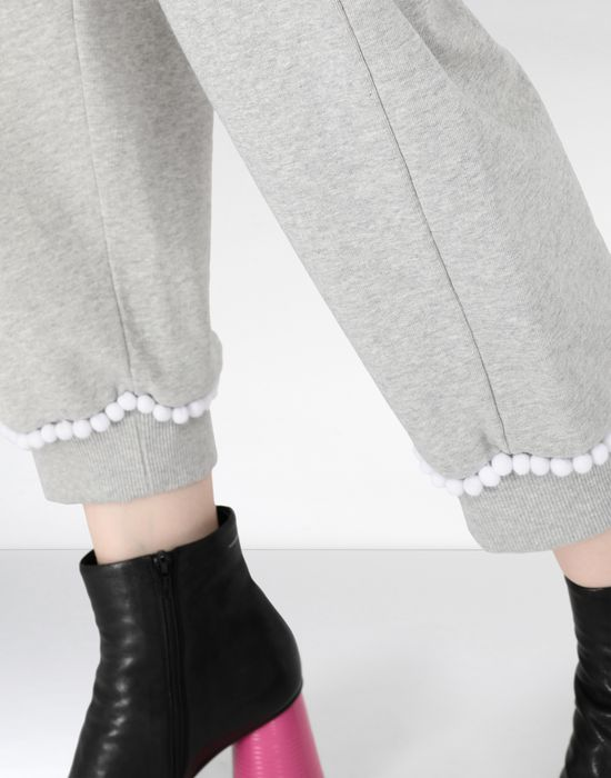 MM6 MAISON MARGIELA Casual pompom jersey joggers Casual pants [*** pickupInStoreShipping_info ***] a