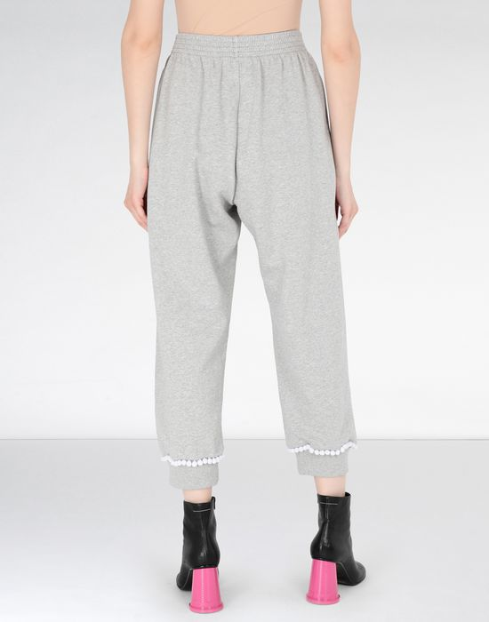 MM6 MAISON MARGIELA Casual pompom jersey joggers Casual pants [*** pickupInStoreShipping_info ***] d