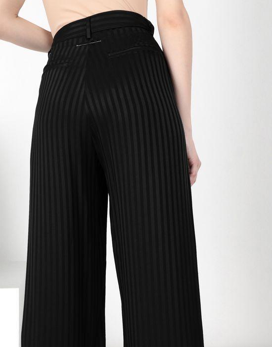 MM6 MAISON MARGIELA Striped casual pompom pants Casual pants [*** pickupInStoreShipping_info ***] a