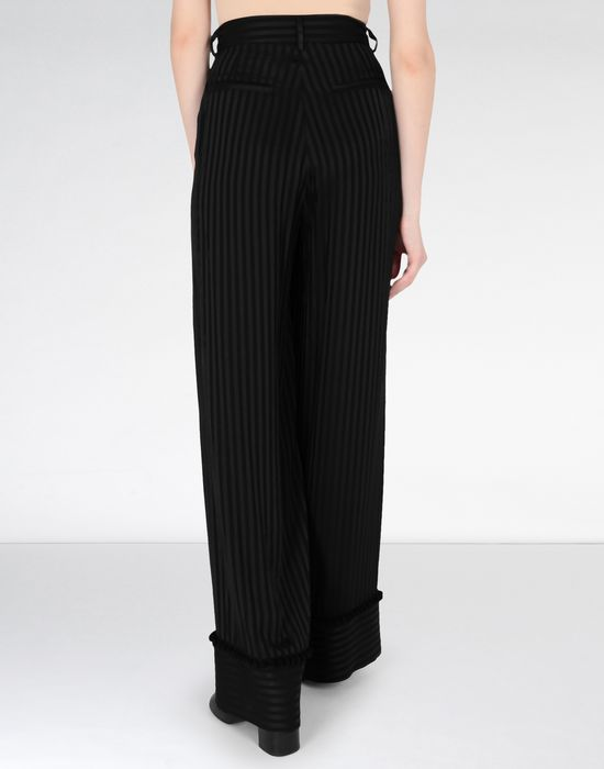 MM6 MAISON MARGIELA Striped casual pompom pants Casual pants [*** pickupInStoreShipping_info ***] d