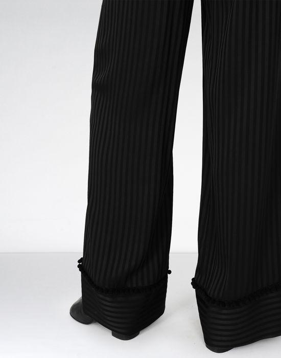 MM6 MAISON MARGIELA Striped casual pompom pants Casual pants [*** pickupInStoreShipping_info ***] e
