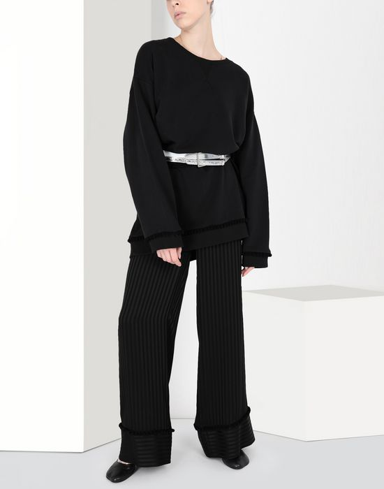 MM6 MAISON MARGIELA Striped casual pompom pants Casual pants [*** pickupInStoreShipping_info ***] r