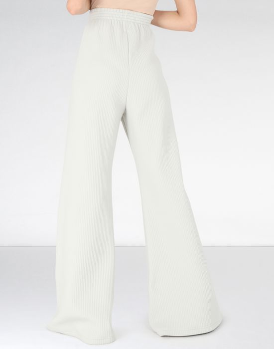 MM6 MAISON MARGIELA Flared ribbed jersey pants Casual pants [*** pickupInStoreShipping_info ***] d
