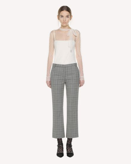 REDValentino Pants Woman QR3RB1903SE 0NO f