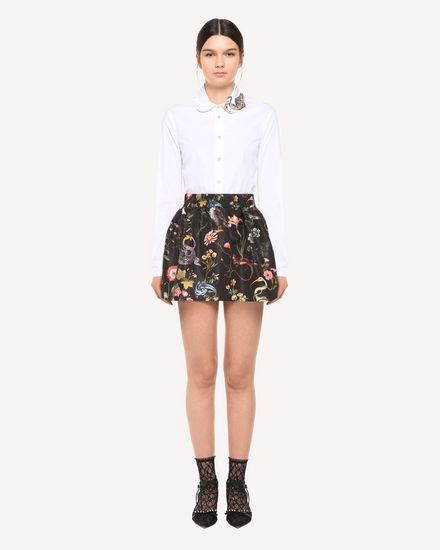 REDValentino Skirt Woman QR3RA2Z23T3 0NO f