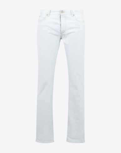 MAISON MARGIELA Jeans Man Light bleach 5-pocket jeans f