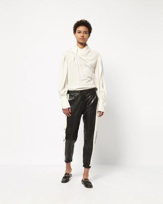 COY leather pants
