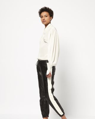 ISABEL MARANT PANT Woman COY leather pants r