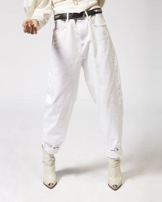 ISABEL MARANT ÉTOILE PANT Woman CORSY oversize jeans r
