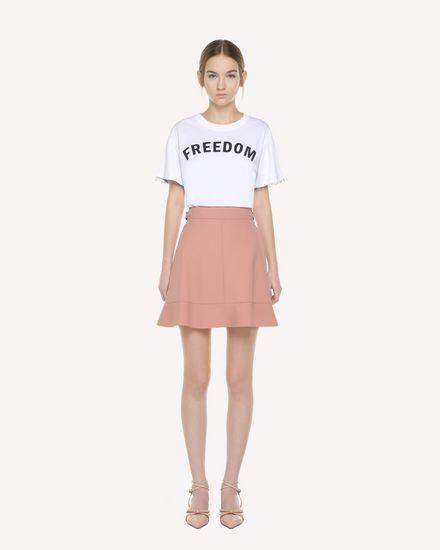 REDValentino Skirt Woman QR3RA3150VM R13 f