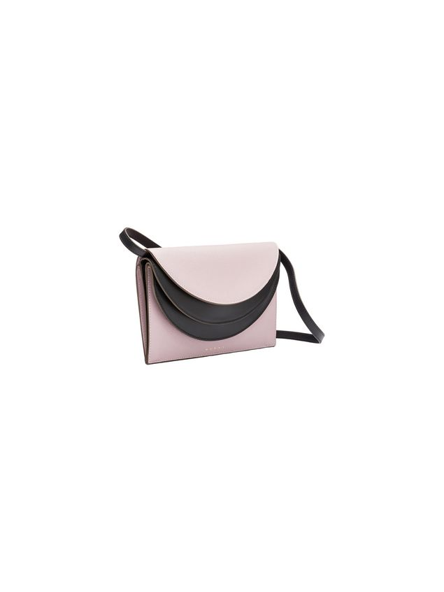 Marni Gusset wallet in saffiano calfskin Woman - 2