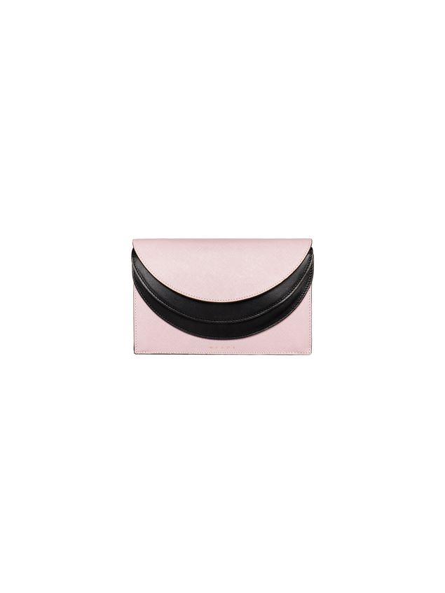 Marni Gusset wallet in saffiano calfskin Woman - 1