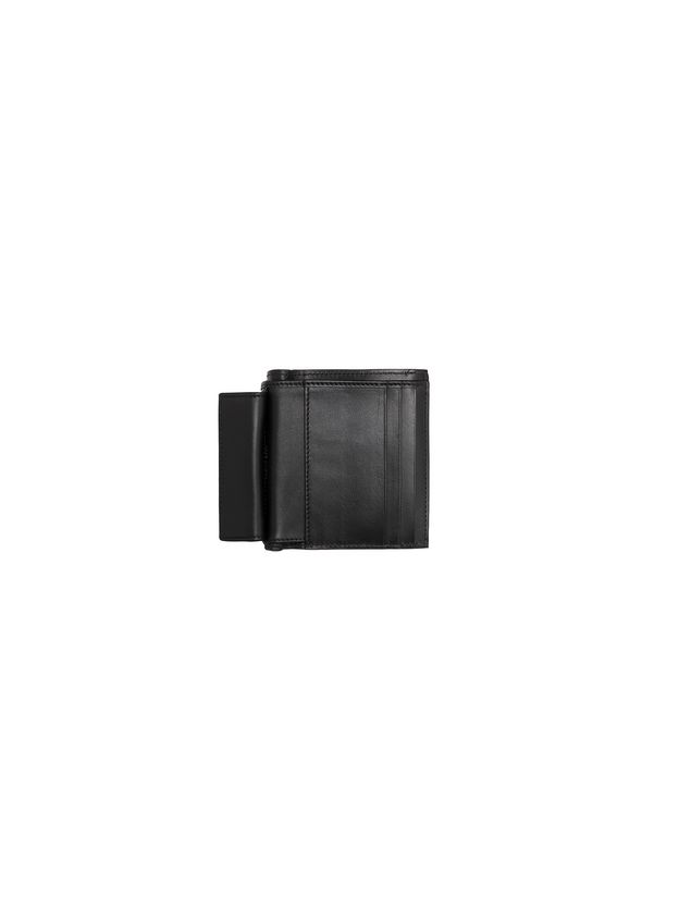Marni Wallet in black and pink saffiano calfskin Woman - 2